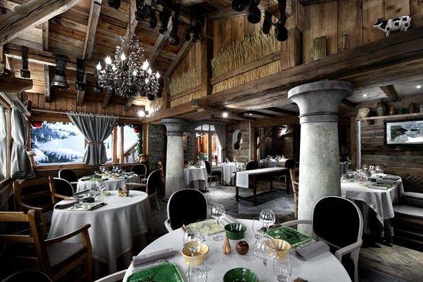 Un déjeuner haut de gamme au restaurant gastronomique La Bouitte à Saint-Martin-de-Belleville - © La Bouitte