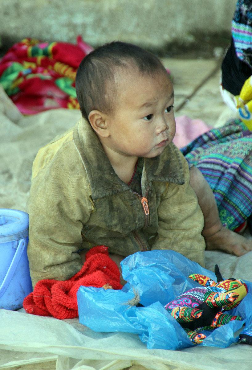 Ein weiteres Kleinkind,dass im natürlichen und ursprünglichen Vietnm aufwachsen wird - © Karsten-T. Raab