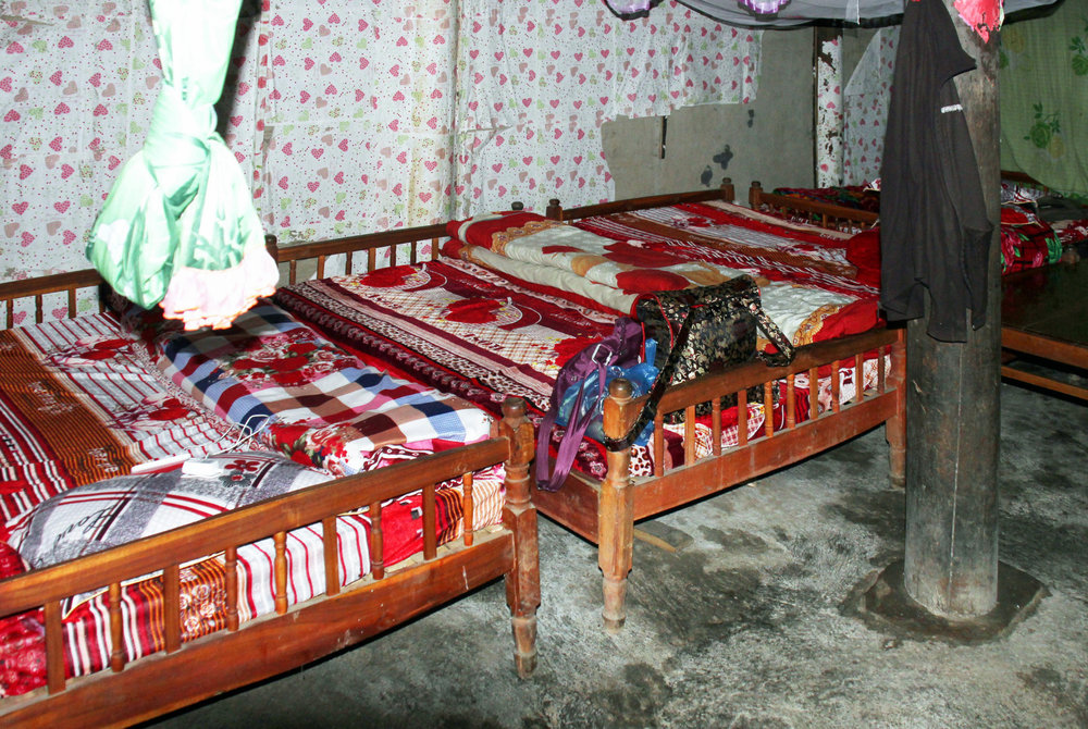 Eine typische Homestay-Unterkunft - © Karsten-T. Raab