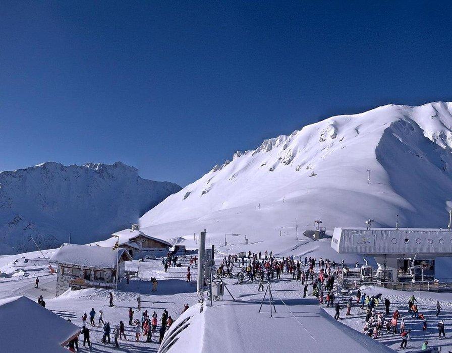 Snowsure slopes of Les Arcs - © Les Arcs