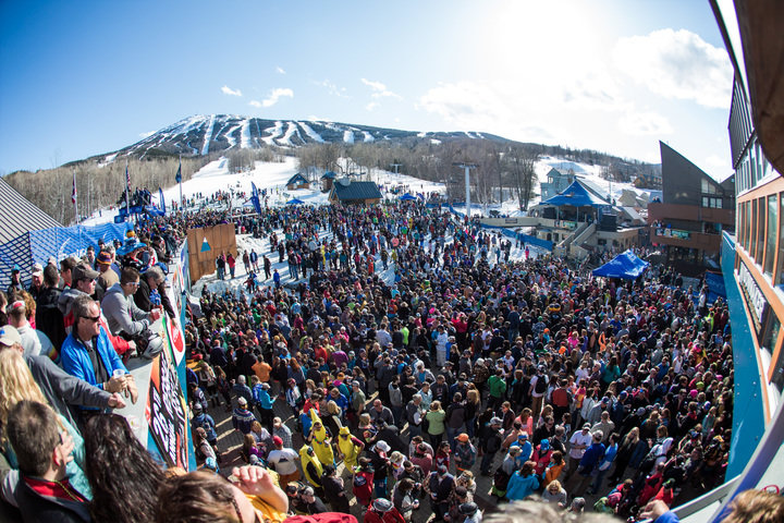 Crowds gather at the Beach at Sugarloaf for the annual Bud Light Reggae Fest. - © Sugarloaf