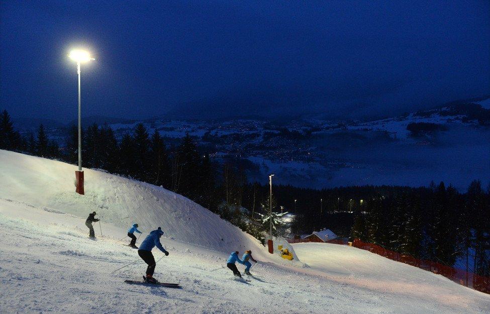 Sciare di notte in Val di Fiemme - © Val di Fiemme