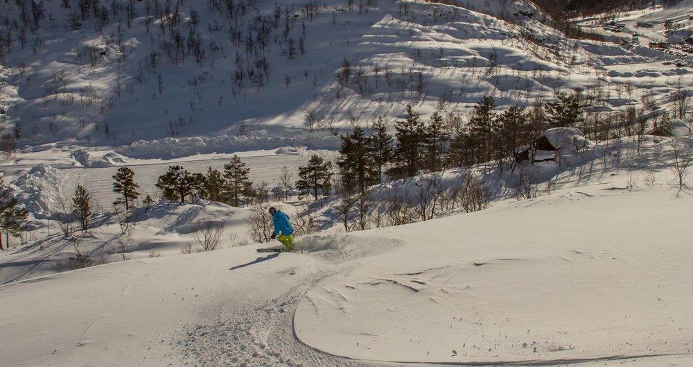 Nok en nydelig dag i Eikedalen.  - © Jan Petter Svendal