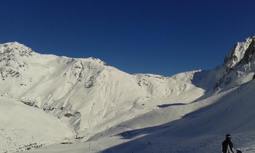 Sur le domaine skiable du Grand Tourmalet - © Office de tourisme Grand Tourmalet Pic du Midi