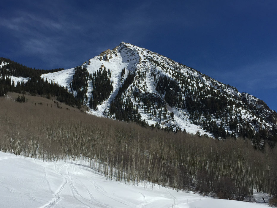 "Though it's called Crested Butte, it's not actually a ""butte,"" but a 12,168-foot mountain with an iconic shape that offers up some incredible skiing. - © Krista Crabtree"