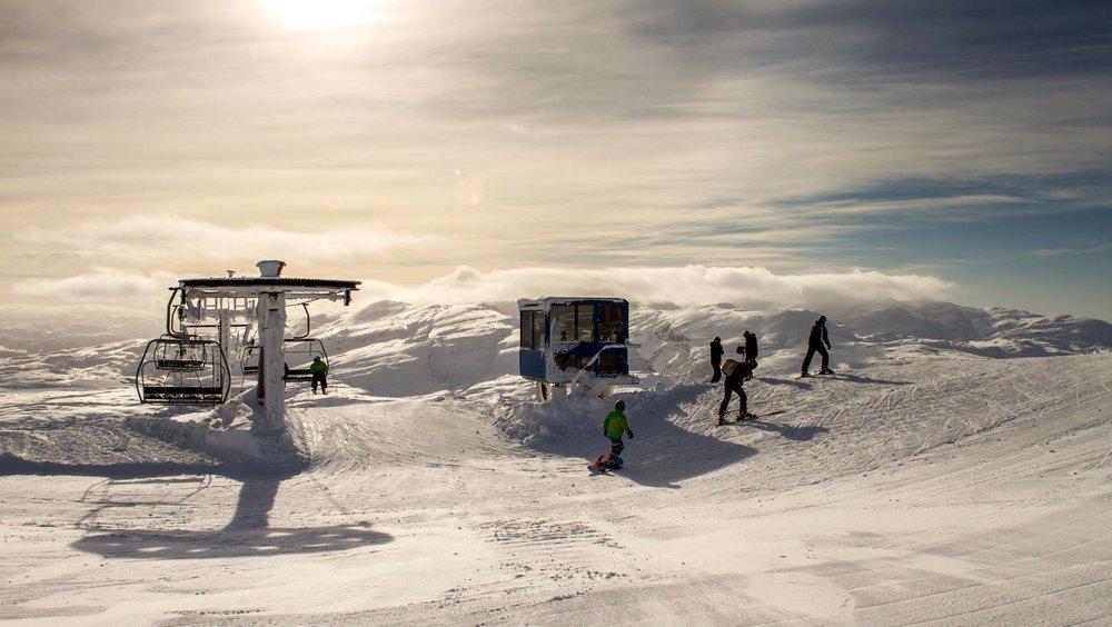 Eikedalen skisenter viste seg fra sin beste side. - © Jan Petter Svendal