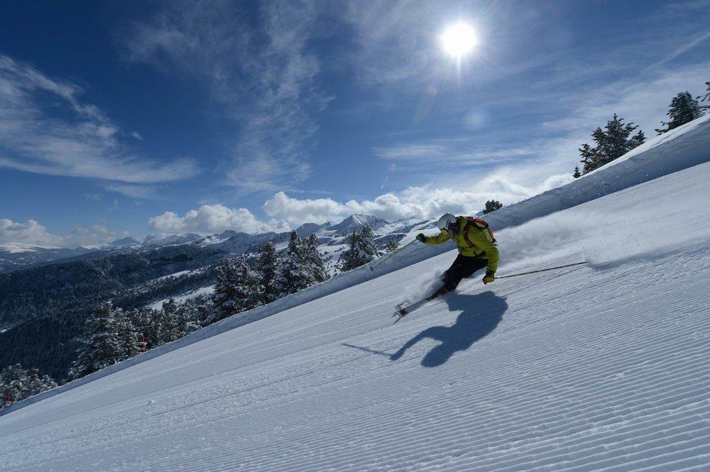 Idealnie przygotowane trasy w Val di Fiemme - © Orlerimages.com, Trentino Marketing Photo Archive