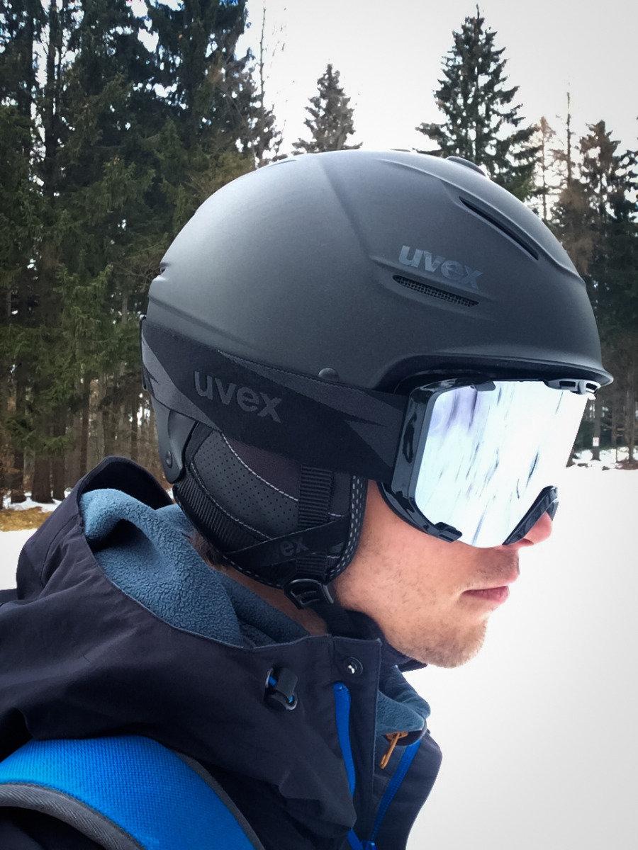 Im Test: Uvex P1us Pro und Uvex Snowstrike LTM Black - © Skiinfo