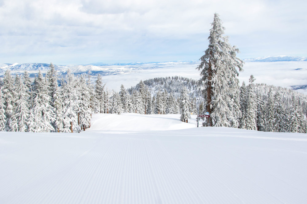 Northstar looking on top of its game after receiving 49 inches in four days.  - © Northstar California Resort