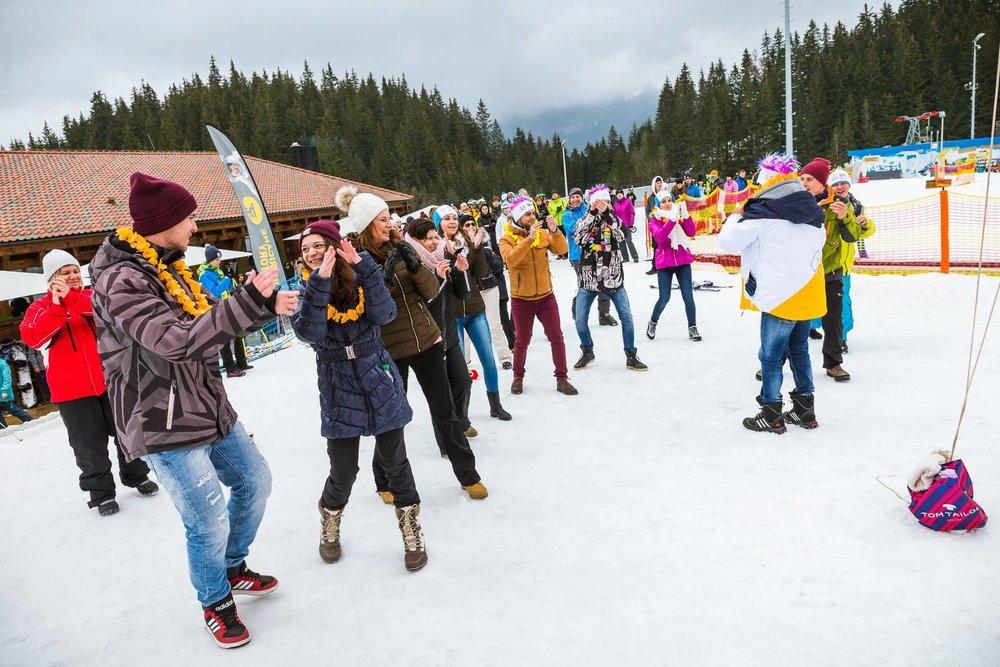 Her kaster de klærne på ski i Slovakia - © TMR, a.s.