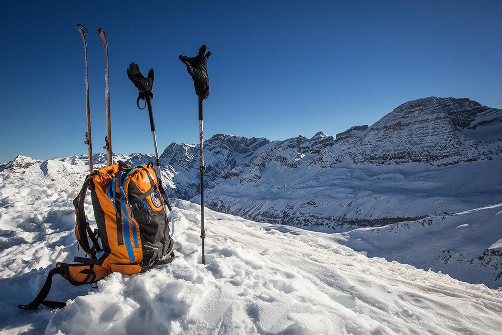 Partir à la conquête des crêtes du Cirque de Gavarnie en ski de randonnée... Un must ! - © Pierre Meyer / OT Gavarnie - Gèdre