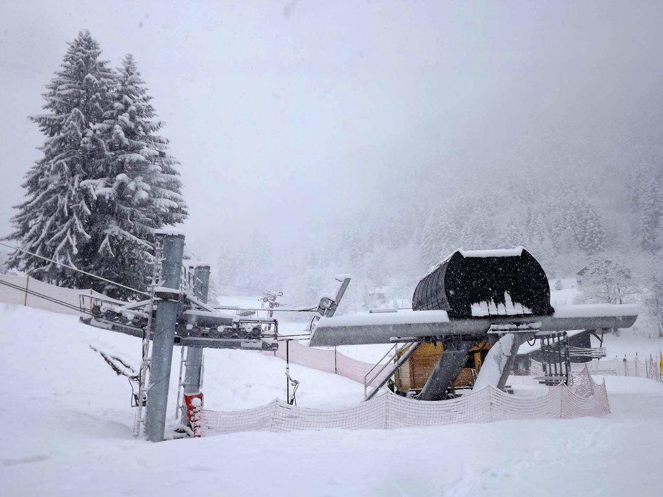 Jour de neige à Saint Pierre de Chartreuse - © SIVU SPC/P