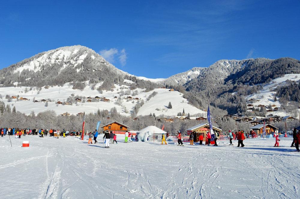 Front de neige de Praz sur Arly - © Office de Tourisme de Praz sur Arly