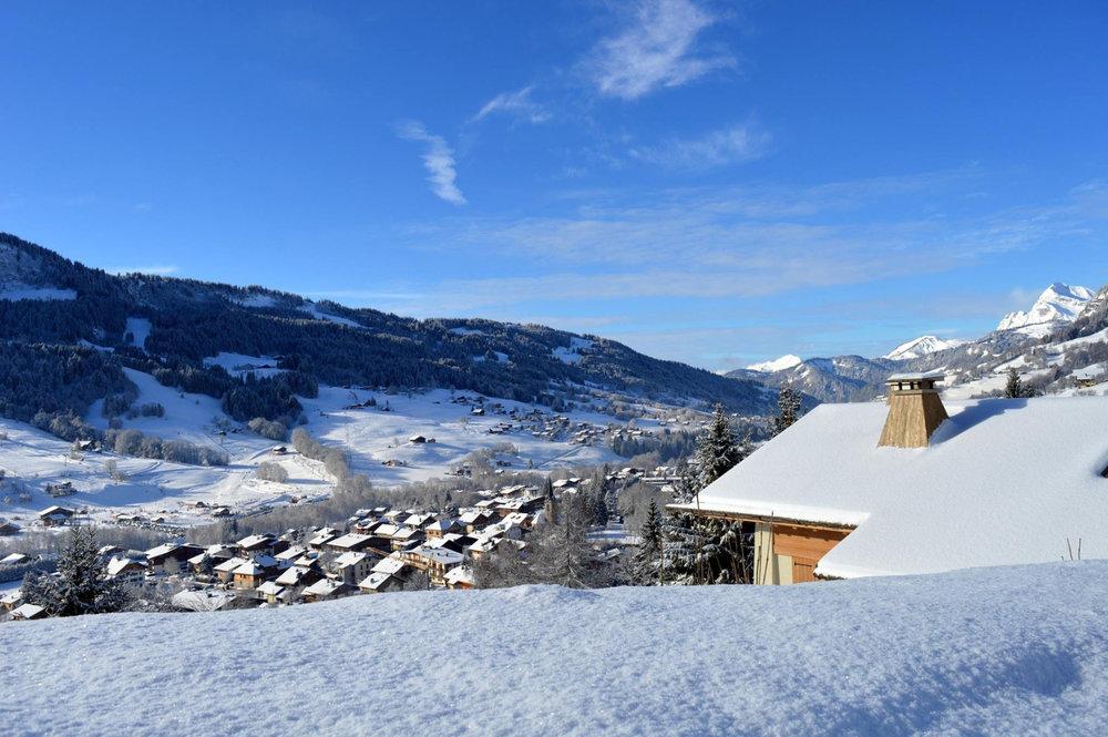 Station de ski de Praz sur Arly, ses chalets et résidences - © Office de Tourisme de Praz sur Arly
