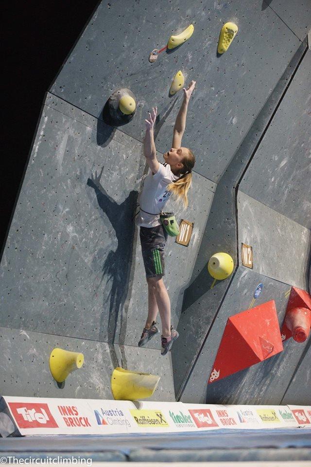 Janja Garnbret (SLO) - ©IFSC | The Circuit Climbing | Eddie Fowke