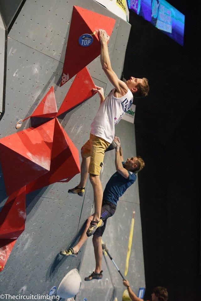 Stefan Scarperi (ITA) - ©IFSC | The Circuit Climbing | Eddie Fowke