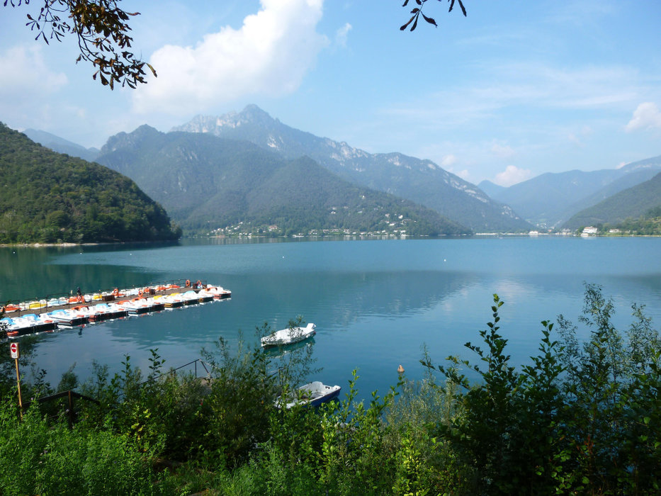 Lago di Ledro oberhalb des Gardasees  - ©Armin Herb