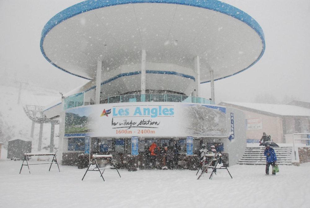 Jour de neige aux Angles ! - © Office de Tourisme des Angles