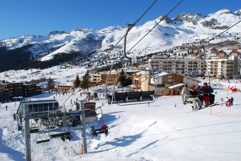 En route pour les pistes de ski de St François Longchamp - © Office de Tourisme de St François Longchamp