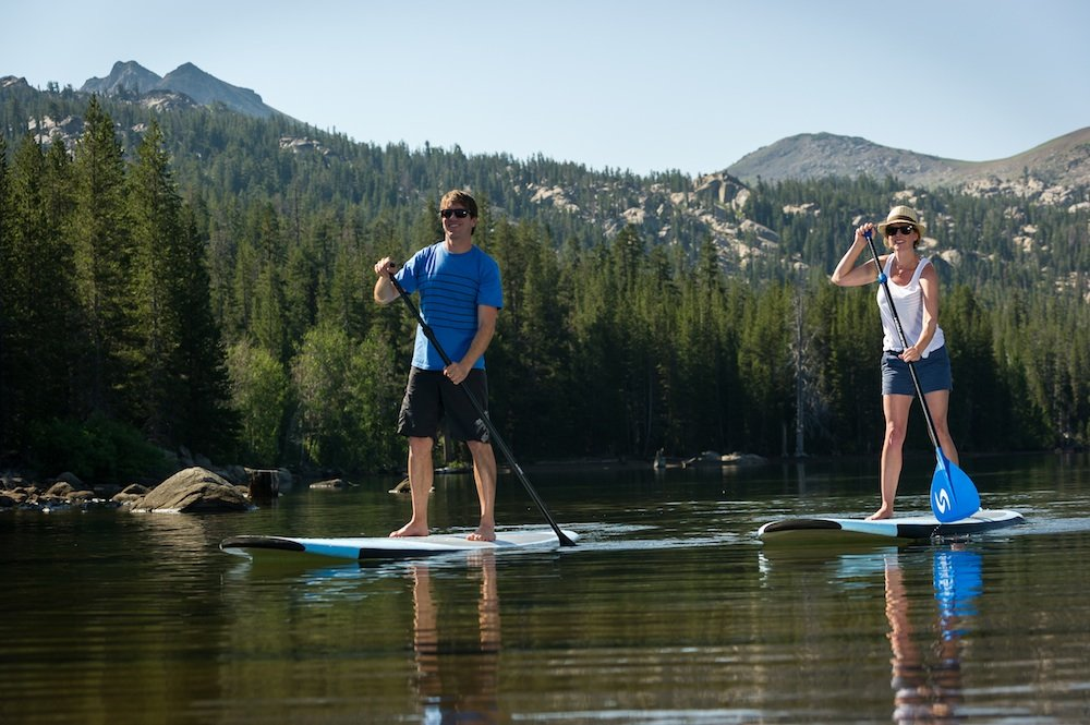 SUPing will put a smile on your face. - ©Kirkwood Mountain Resort