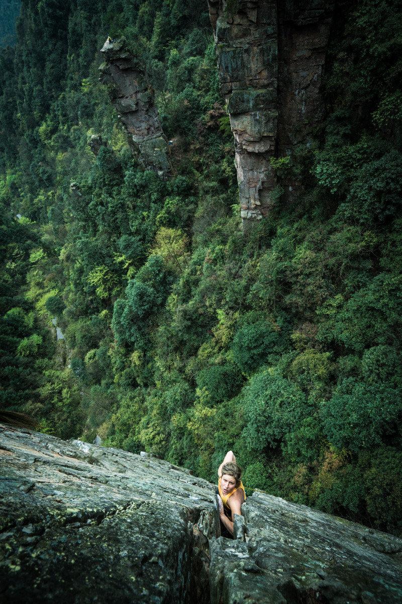 Mayan im Riss von Last Shadow (5.11d) - ©adidas outdoor | Frank Kretschmann