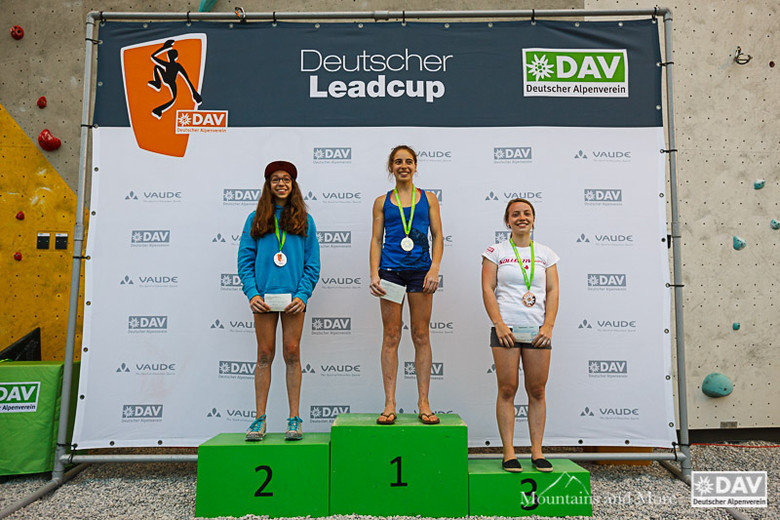 Finale Deutscher Leadcup München, Juni 2016 - ©Marco Kost   Deutscher Alpenverein