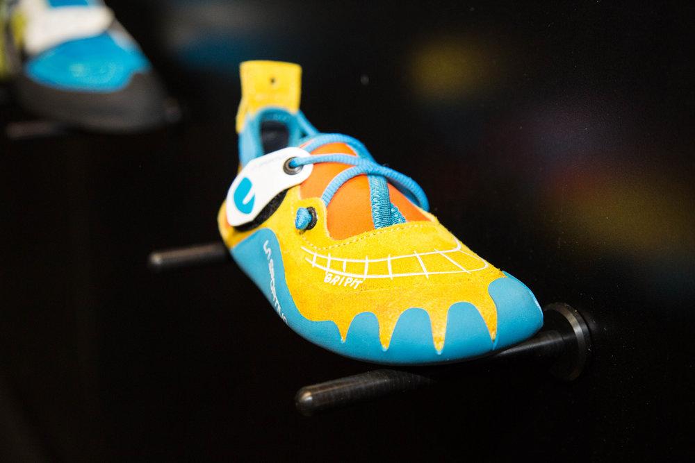 Der Gripit ist der neue Kinderkletterschuh der Kollektion von La Sportiva - ©Bergleben.de