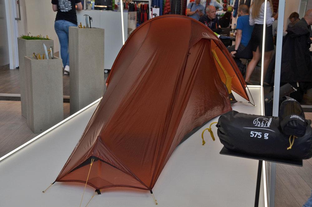 Nordisks Lofoten 1 ULW Zelt kommt mit 575 g Packgewicht aus - ©bergleben.de