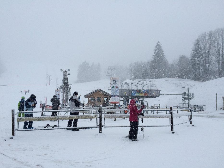 Jour de neige à Métabief... - © Métabief Tourisme