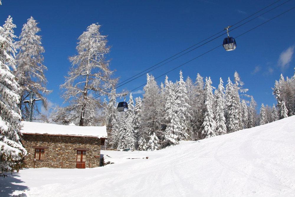 En route pour les pistes de ski de la Norma - © OT de la Norma