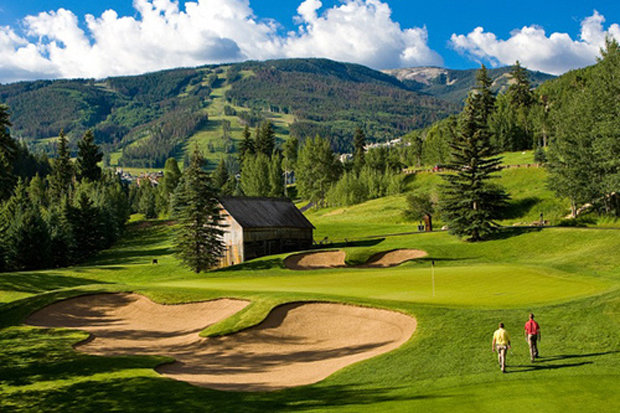 Beaver Creek Golf Club's RTJ Jr.-designed course is one of the oldest in Vail Valley and one of the best in the state. - © Jack Affleck