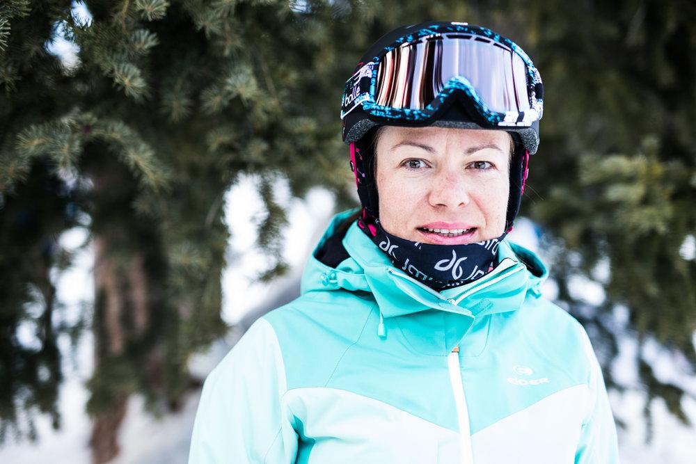 Elena Balandina (43) er skiinstruktør i Loveland i Colorado. - © Liam Doran