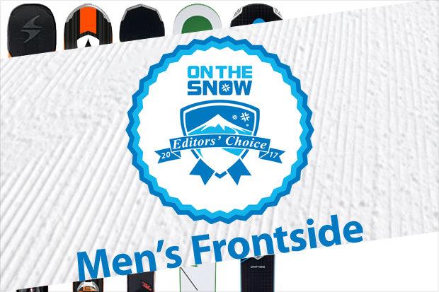 Men's 16/17 Editors' Choice Frontside skis.