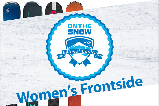 Women's 16/17 Editors' Choice Frontside skis.