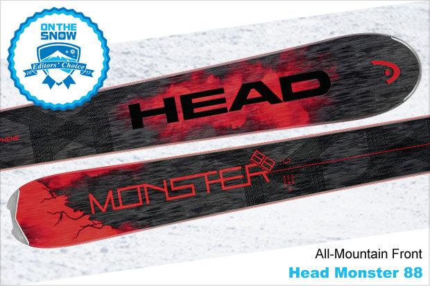 Head Monster 88, men's 16/17 All-Mountain Front Editors' Choice ski. - © Head