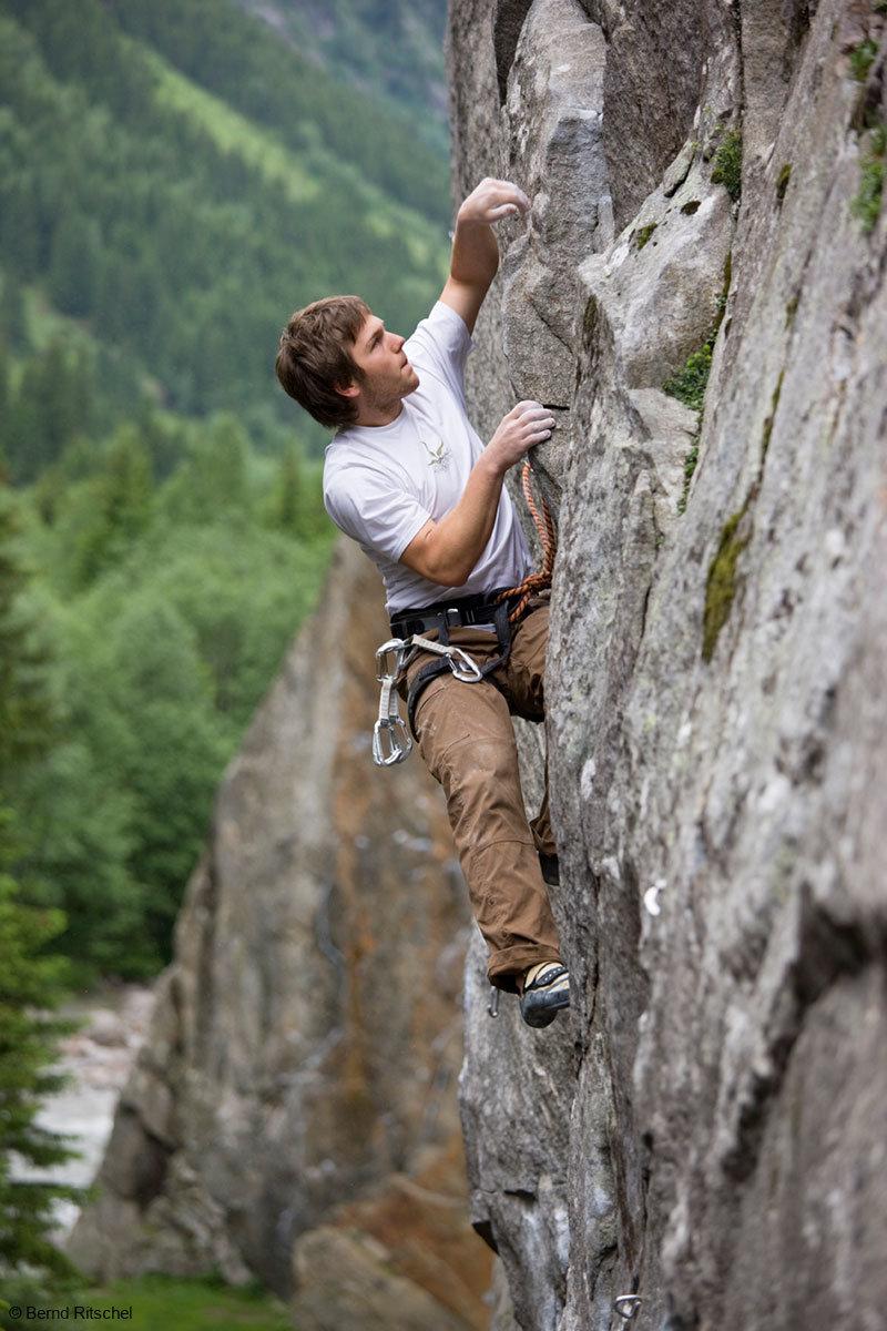 Beim Klettern in den ewigen Jagdgründen bietet sich euch eine wunderbare Aussicht - © Bernd Ritschel