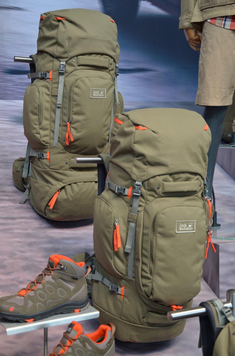 Jack Wolfskins neuer Hobo-Rucksack hat viel Platz  - © bergleben.de