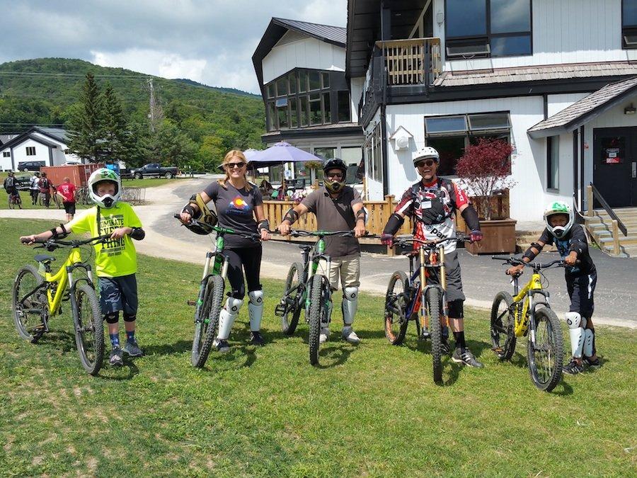 Bike rentals deliver a safe and fun way to navigate lift-served mountain biking. - © Susan Martone