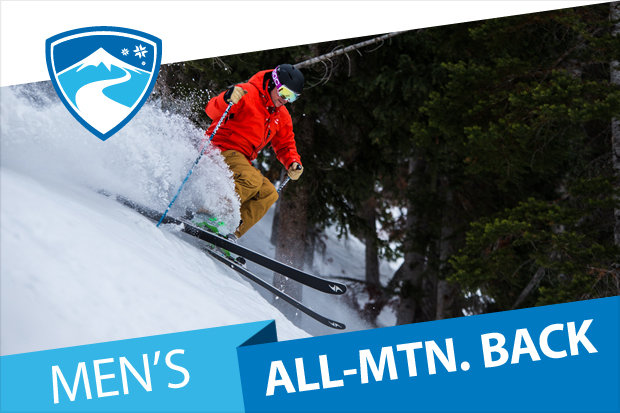 OnTheSnow men's All-Mountain Back Ski Buyers' Guide 2016/2017. - © Liam Doran
