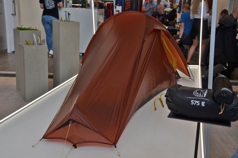 Nordisks Lofoten 1 ULW Zelt kommt mit 575 g Packgewicht aus - © bergleben.de
