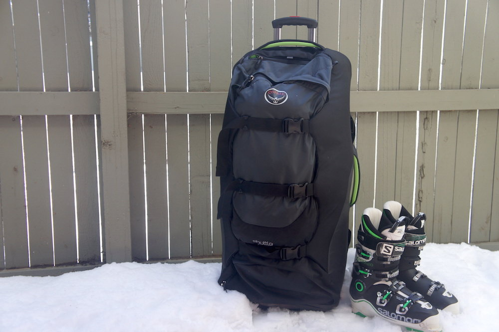 "Osprey's Shuttle 130L/36"": $320 For when you're finally over pretending to like packing light, Osprey's Shuttle 130L provides nearly 8,000 cubic inches of carrying capacity. Compression straps minimize bulk, while a large lower compartment can handle boots and wet equipment. Available at: http://www.ospreypacks.com/us/en/product/shuttle-130l-36-SHUTTLE36_563.html - © James Robles"