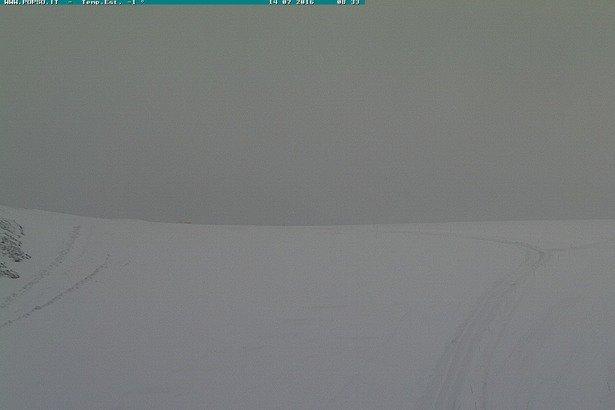 Passo Stelvio, neve fresca 14 Luglio 2016