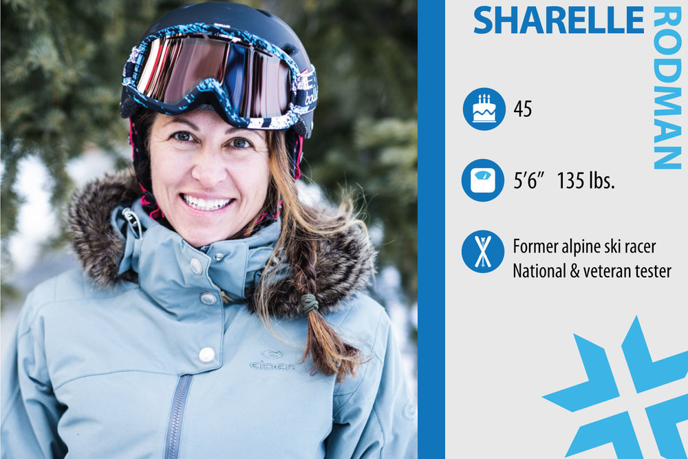 "Sharelle Rodman. Job in real life: Utah Sales Rep for Riviera Paddlesurf and mom. Something from ski history that should make a comeback: ""The powder day. Everyday."" - © Liam Doran"