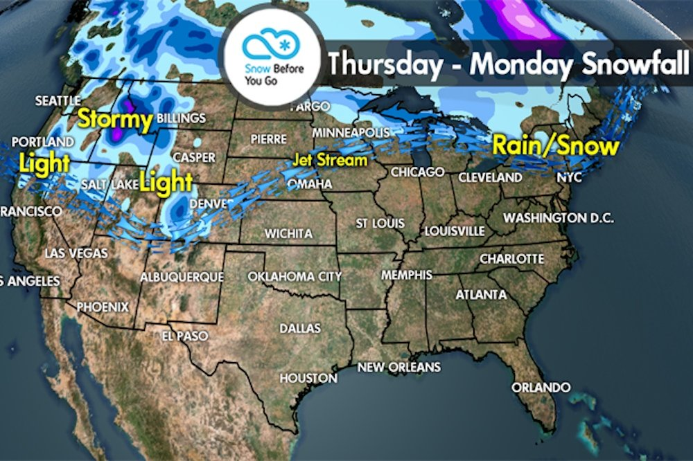Snow Before You Go: Season's Shifting, Best Snow West - © Meteorologist Chris Tomer