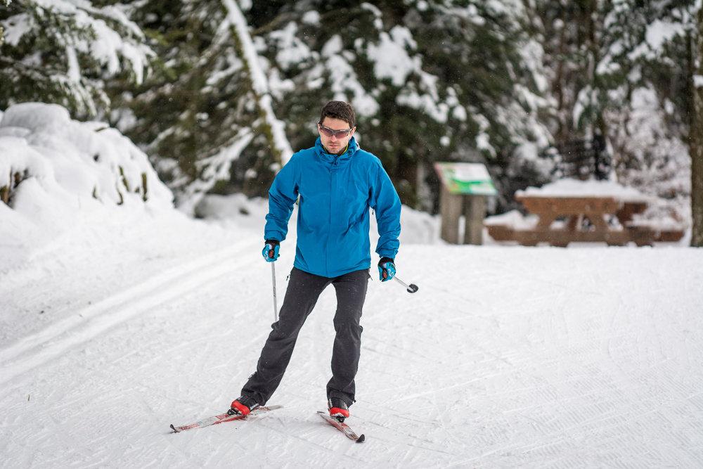 Sur les pistes de ski de fond de la Planche des Belles Filles - © Thomas-Devard