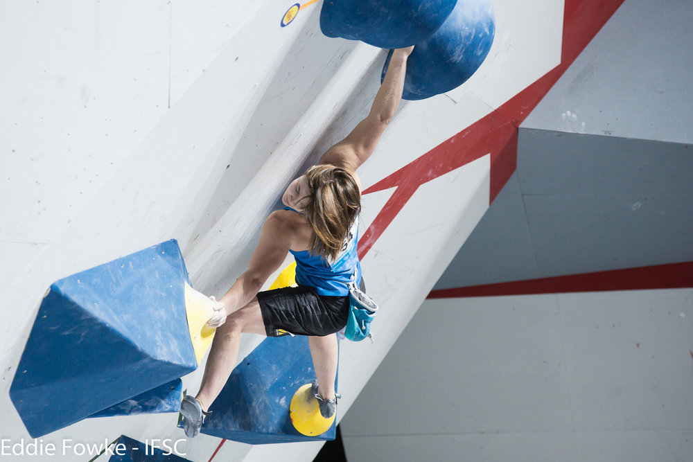 Halbfinale Bouldern Frauen - ©IFSC / Eddie Fowke