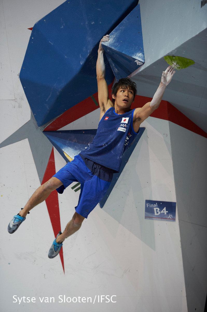 Tomoa Narasaki (JAP) - © IFSC / Sytse van Slooten