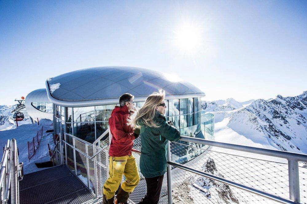 Pitztal - nejvýš umístěná kavárna v Rakousku - 3440 m. n.m. - © Pitztaler Gletscherbahn by Daniel Zangerl