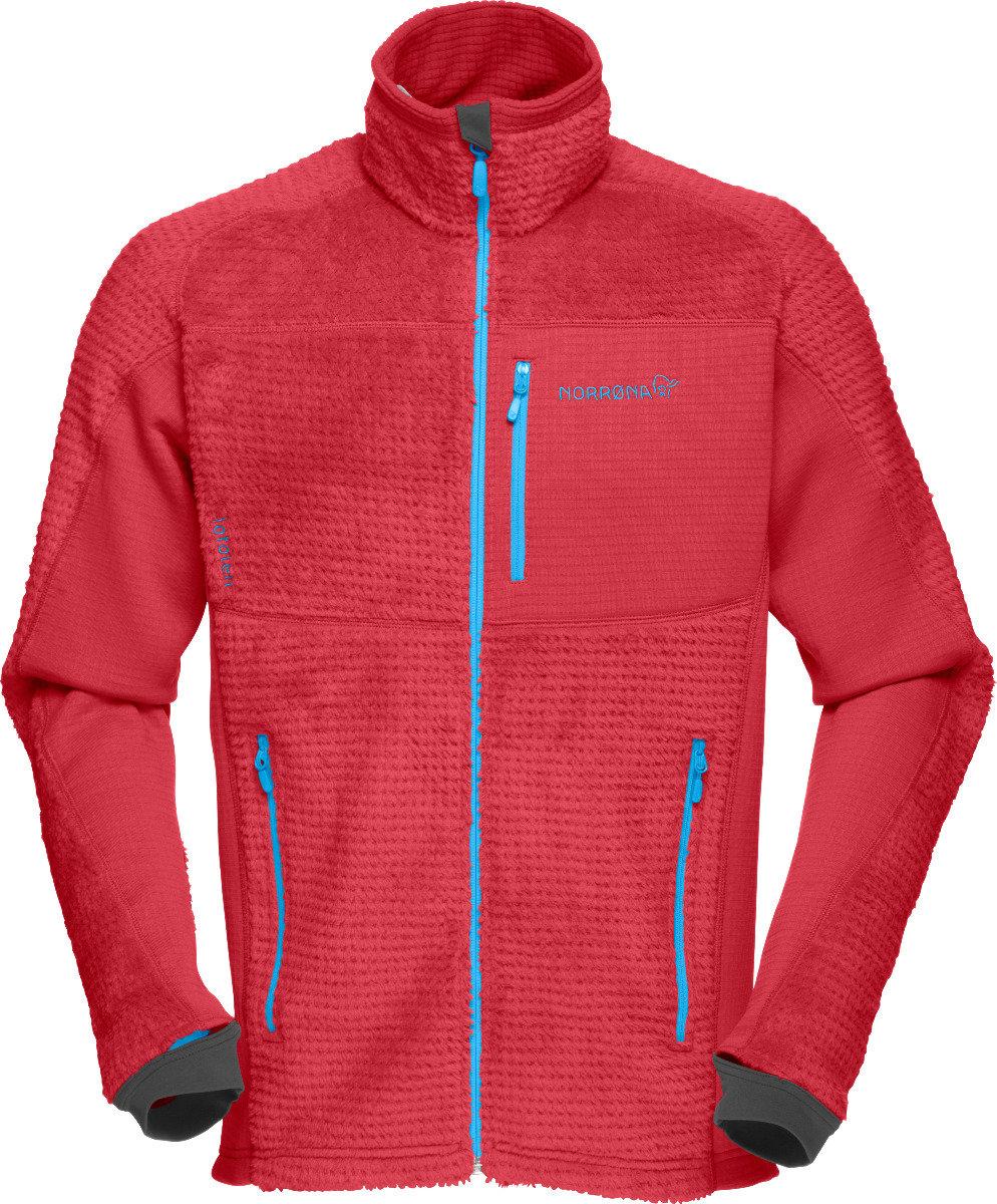 Veste Norrøna Lofoten Warm2 HighLoft Jacket (Modèle homme Jester Red) - © Norrøna