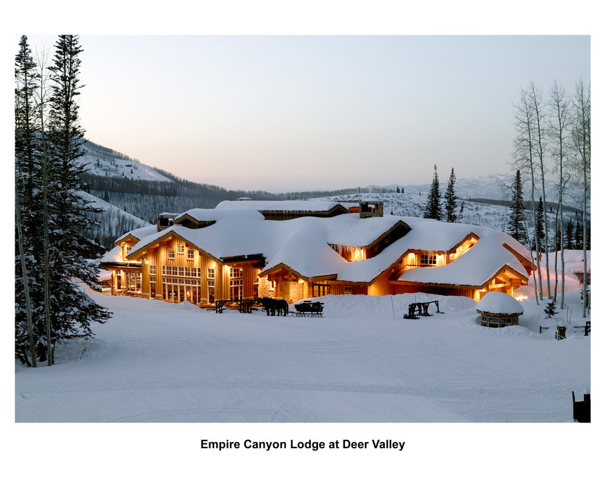Deer Valley, l'Empire Canyon Lodge
